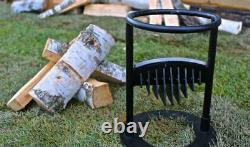 Bois De Chauffage Splitter Kindling Cracker Wedge Manual Log Home Steel Heavy Duty
