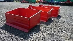 Boîte De Basculement Tracteur, Attelage 3 Points, Heavy Duty