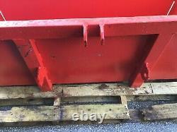 Boîte De Transport No Vat Tractor Link Box 5ft Excellent État