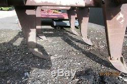 Bomford 5 Leg Superflow Charrue Ciseau Cultivateur Sous-soleur Avec Des Roues De Profondeur