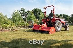Bora158 Bora Heavy Duty Italien Rotobroyeur 1.58m Large Pour Tracteurs Compacts