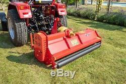 Bora186 Bora Heavy Duty Italien Rotobroyeur 1.86m Large Pour Tracteurs Compacts