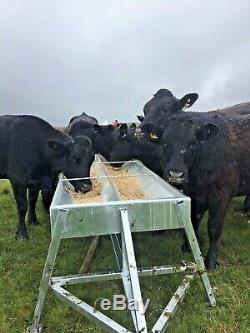 Bovins Creux Tractables Alimentation Robuste Attelage 4x4 Quad Galvanisé Trialed