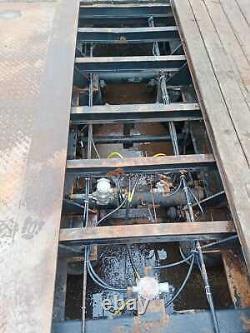 Broshuis Remorque Plate, Tambours, Suspension D'air