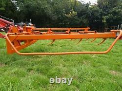 Browns Flat 8 Bale Grab Euro 3 Tracteur. Mettre En Œuvre. Agriculture. L'agriculture. Chargeur