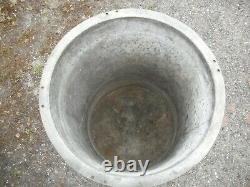 Butt Galvanisé Lourd D'eau / Planteur. (cylindre Pour Moteur Stationnaire.)