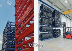 Cage Heavy Duty Portable Tire, Rack, Vinasses, Stockage Pour Plus De 100 Pneus, Gros