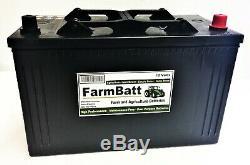 Camion De Camion De Tracteur De Batterie D'agriculture Résistante De Farmbatt Fb663 De 12v 110ah
