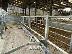 Cattle Race Inc Drafting Gate, Heavy Duty Cattlemaster Crush, Portes/haies
