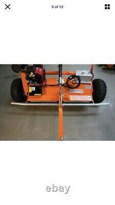 Chapman Fm120 Vtt Flail Mower 2 Yr Garantie £4,600 Made In Uk