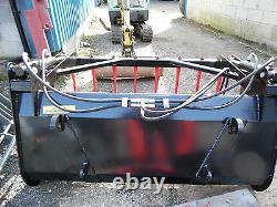 Chargeur Avant Muck Grab Fork 1.25mtr 2.0mtr Euro 8 Brackets Tva Inc