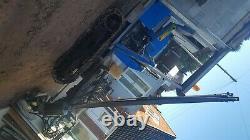 Cogneur Hydraulique Lourd Utilisé De Poteau Sur Kubota Suivi