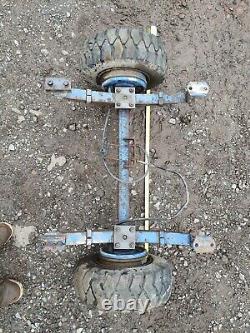 Compact D'essieu Lourd De Remorque