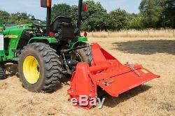 Ctr125 Italian Country Heavy Duty Rotary Tiller 1,25m Pour Tracteurs Compacts