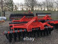 Cultivateur Harrow 3,0m, Rouleau De Type V, Lourd, Nouveau