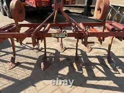 Cultivateur Harrow Schuffle 7legs Avec 2 Roues De Profondeur 5ft Large Compact Tracteur