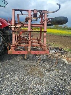 Cultivateur Printanier Tine (chisel Plough) 16f (pliage Hydraulique)