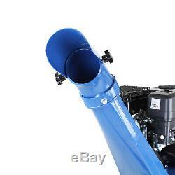 Déchiqueteuse À Bois Essence 7cv Hyundai Heavy Duty Start Électrique Rampes Hych7070e-2 Inc