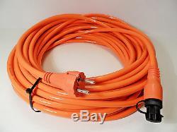 Defa 701109 Mini Plug Power Shore Renforcé Par Câble 25m Pour Voiture Bateau Marine