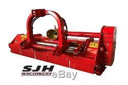 Del Morino Heavy Duty Rotobroyeur Broyeuse Montage Sur Tracteur À Partir De £ 2495 + Tva