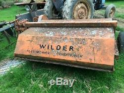 Devoir Lourd Rotobroyeur Wilder £ 750 Plus Tva £ 900