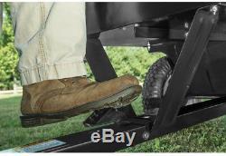 Dump Acier Panier Tracteur Attachement Jardin Jardin Pelouse Fiche Mur 12 Pi Cu