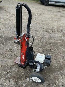 Essence De Bois 10 Tonnes Hydraulique Répartiteur De Billes Réglable Moteur Honda