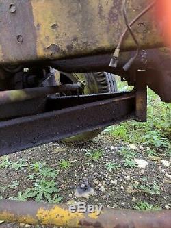 Essieu Avant Avec Roues Résistant Fordson Major Duty Ideal Tractor Puller