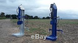 Fendeuse À Bois Hydraulique 20 000 KG 20 Tonnes Jsa Heavy Duty. Bois De Feu De Tracteur
