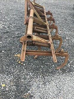 Ferguson Heavy Duty Spring Cultivateur 8 Pieds De Large No Tva
