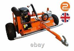 Fm120 Atv Flail Mower British Manufacture 2 Ans Garantie Prix De Vente Conseillé 4 700 £ + Tva