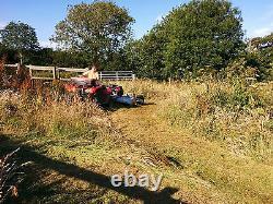 Fm150 Atv Flail Mower British Manufacture 2 Yr Garantie Rrp £4,800 + Tva