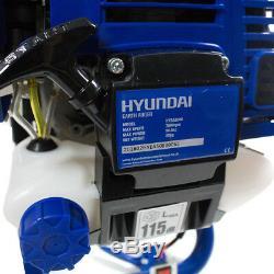 Foret De Forage Au Sol Pour Foreuse Au Sol À Essence Hyundai Foret Après Trou + 3 Mors Hyea5080