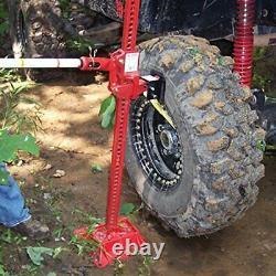 Fortes Charges 48 High Lifting Ratchet Farm Farm Jack Pour Tracteurs Camions
