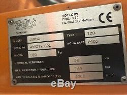 Fossé Hydraulique Votex Et Couvrir Fléau, Fabriqué En Hollande, Forte Charge