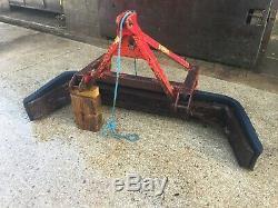 Foster Cour Scraper Push Pull Type Tva Inclus Largeur Réglable Set À 6'9