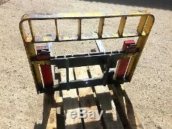 Fourches À Palettes Et Backplate Fit Yr Propres Supports Tvac Telehandler Tracteur Chargeur