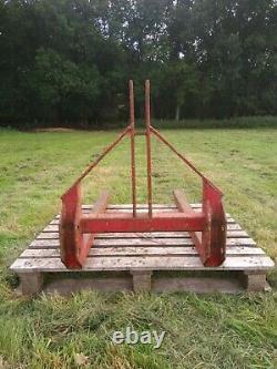 Fourches De Palettes À 3 Points Montées Par Tracteur. Agriculture. L'agriculture. Ferguson