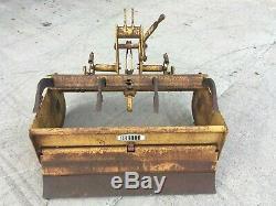 Gannon 4ft Sol Niveleuse / Ripper Box (machine De Service Très Lourd) Tracteur Mounted