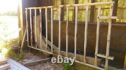 Grand 8ft 10 X 4ft 5 Heavy Duty Galvanised Farm Cattle Pen Gate