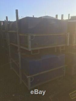 Grand Plastique Portatif Galv De Cuve De Stockage De L'eau Portative Grande 1700 Litres