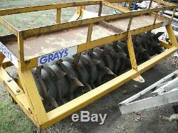Greys Robuste Grass Slitter. Largeur De Travail 8ft
