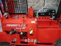 Hakki Pilke 1 X 37 Processeur De Bois De Chauffage À Vendre. À Peine Utilisé