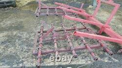 Harrow Bagarre Tine Weeder 10ft Large Réglable Robuste 7mm Tines 3 Point