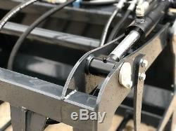 Heavy Duty Bobcat Skidsteer Muck Grab Fourchette Compact Tracteur À Partir De 795 £ + Tva