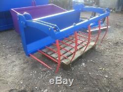 Heavy Duty Bobcat Skidsteer Muck Grab Fourchette Tracteur Compact À Partir De £ 800 Htva