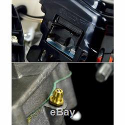Heavy Duty Essence Terre Auger Post Hole Digger Borer 3 Bits 71cc 2 Temps Nouveau Uk