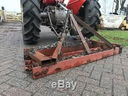 Heavy Duty Lane Grader Pour Kubota Ou Tracteur Compact English Made