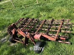 Heavy Duty Tracteur Scarification Rake 3 Liaison Point