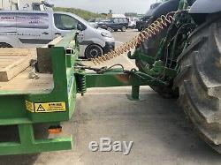 Herbst Surbaissé Tri Axle Heavy Duty Usine Remorque 33 Tonnes Brutes